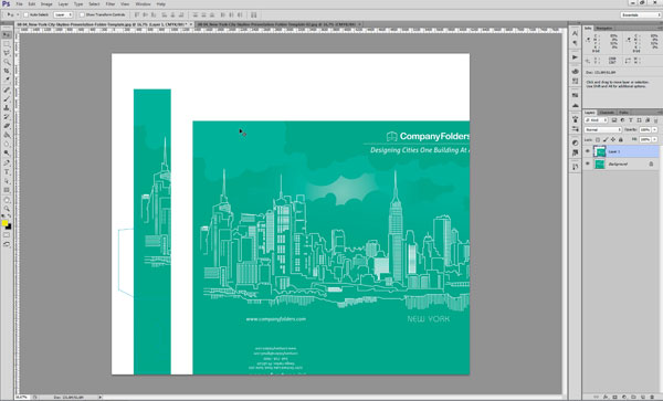 Creating Mockup-Ready Images from an Illustrator Template - Step 3