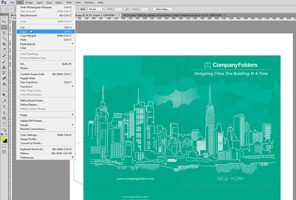 Creating Mockup-Ready Images from an Illustrator Template - Step 5