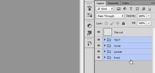 Creating Mockup-Ready Images from a Photoshop Template - Step 1