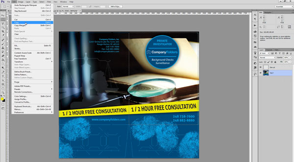 Creating Mockup-Ready Images from a Photoshop Template - Step 3