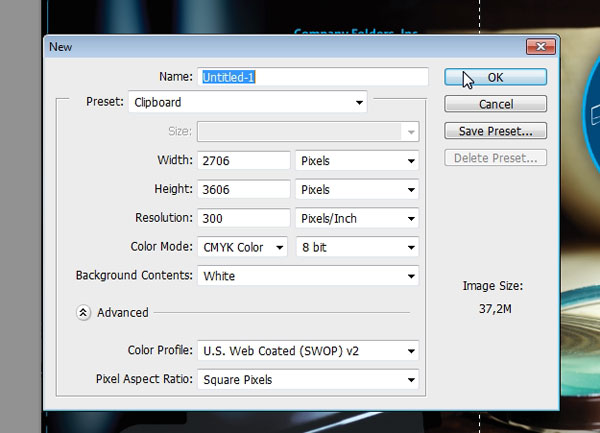 Creating Mockup-Ready Images from a Photoshop Template - Step 4