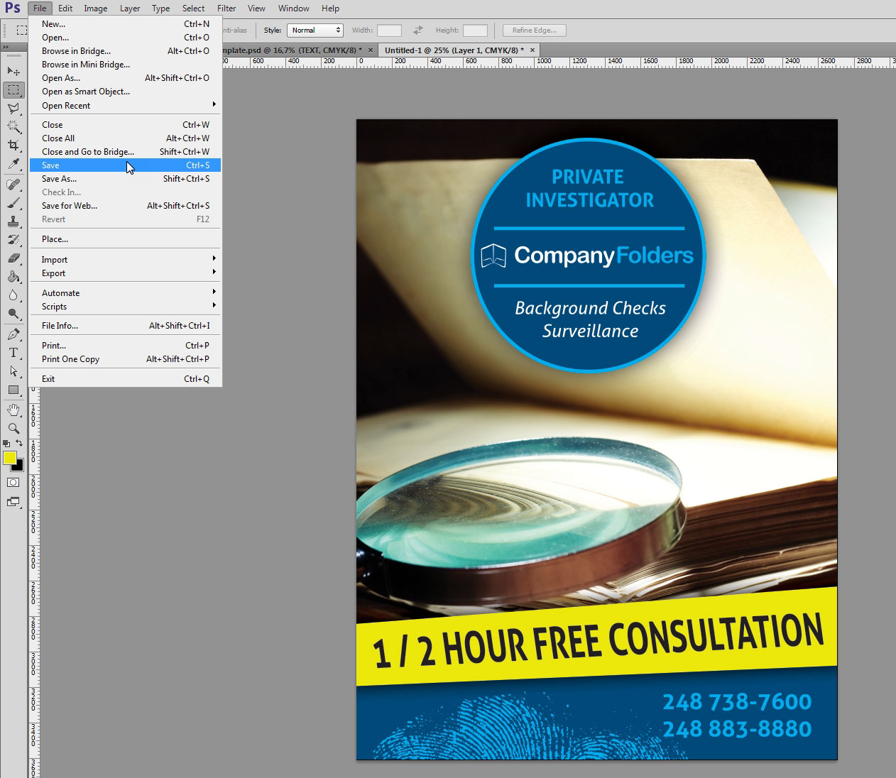Creating Mockup-Ready Images from a Photoshop Template - Step 5