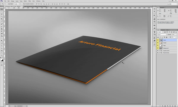 Editing the Printed Mockup Design Directly - Step 4