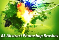 83 Awesomely Abstract Photoshop Brushes