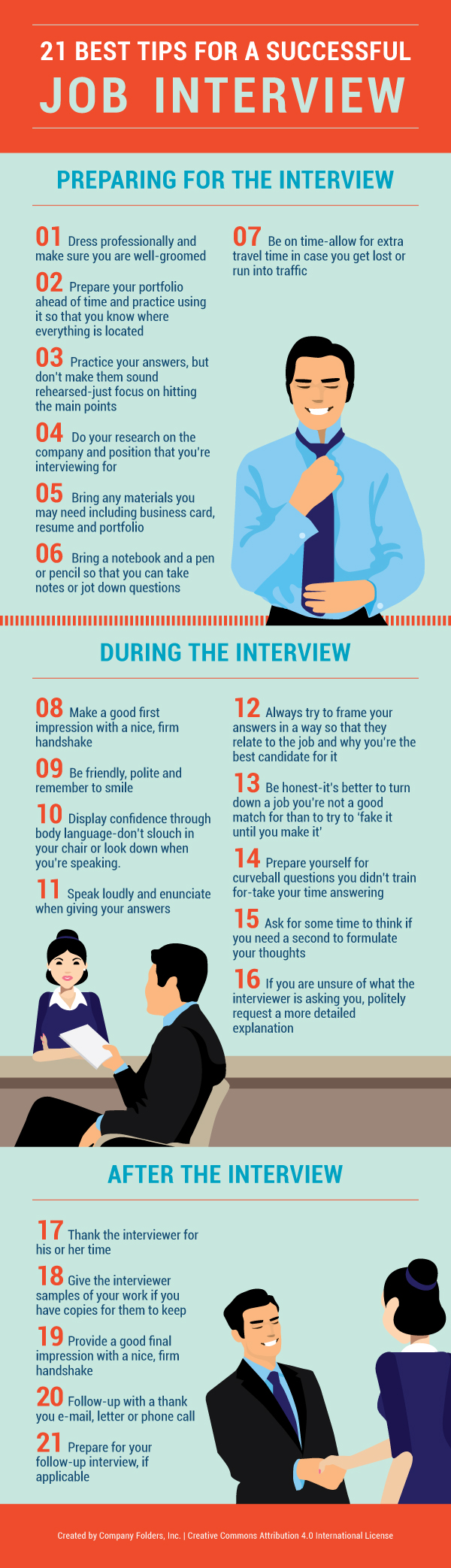 21 Best Interview Tips: Common Questions & Best Answers