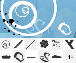 Mind Vector Brush Set