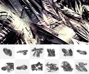 83 Awesomely Abstract Photoshop Brushes for 2018
