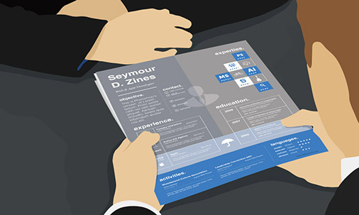 when it comes to creating resumes graphic designers are lucky not many ...