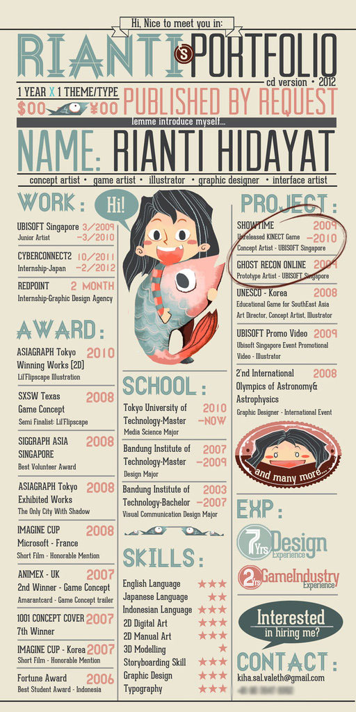 26 best graphic design resume tips  with examples