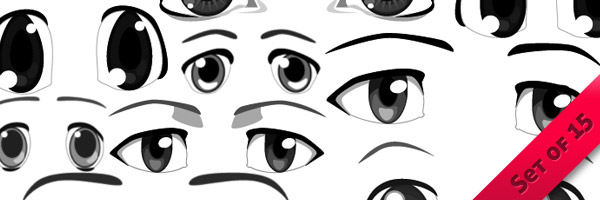 Anime Eyes Brushes PS