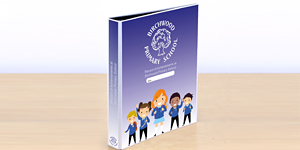 Primary School Binder Design
