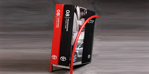 Toyota Color & Trim/Binder & Caddy