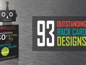 93 Outstanding Rack Card Design Examples