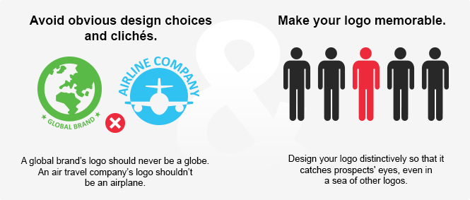 Avoiding Cliches and Making Your Logo Memorable