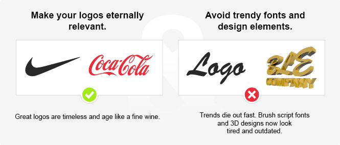 Eternal vs. Trendy Logos
