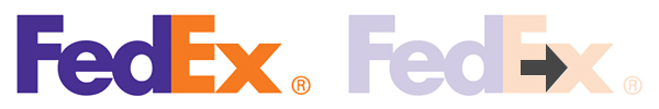 Arrow Hidden in FedEx Logo