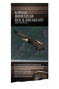 Kodiak Homestead Rack Card
