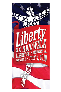 Liberty 5K Rack Card