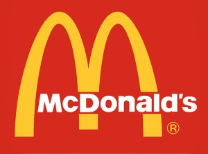 "159afcf404f Most of us go through life thinking that the McDonald s logo is supposed to  be the letter ""M"" for McDonald s. But the original golden arches were  actually a ..."