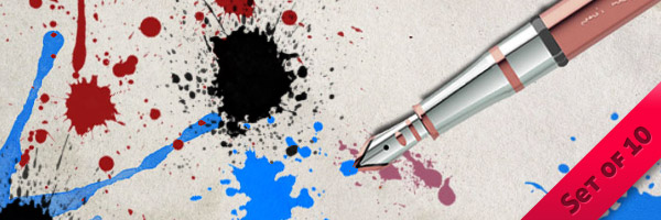 Paint/Ink Splats/Blots/Splash/Splatter Brushes