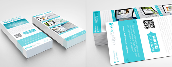 Outstanding Rack Card Design Examples For