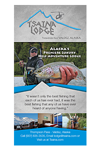 Tsaina Lodge Rack Card