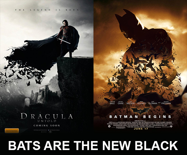 Dracula vs Batman Posters