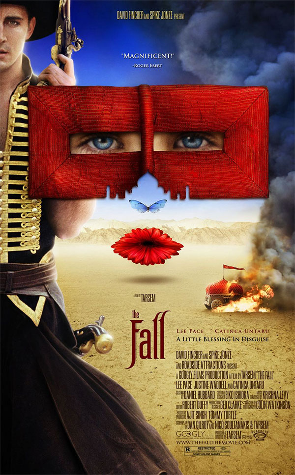 The Fall Contains A Lot Of Fantasy Elements So Youd Expect Movie Poster To Have Some Level Whimsy And Magic But This Design Takes It Too Far