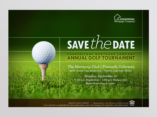2012 Cornerstone Annual Golf Tournament