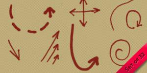Arrow Doodle Brushes