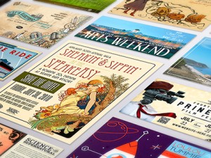 107 Incredible Postcard Designs to Inspire Your Creativity