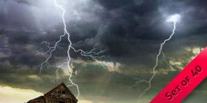 Lightning Bolt Brushes