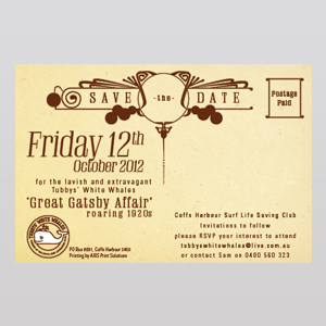 Tubbys White Whales-Great Gatsby Affair
