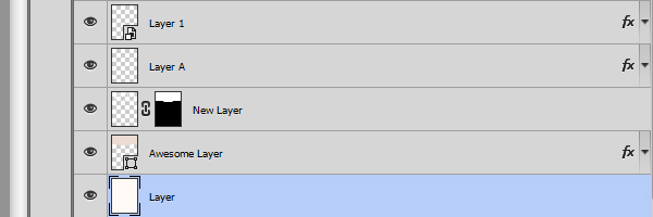 Fill your work files with useless layers