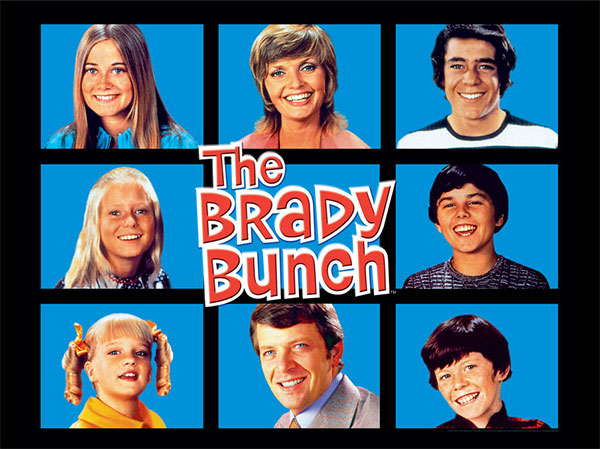 An Example of the Rule of Thirds Used in The Brady Bunch Opening Title