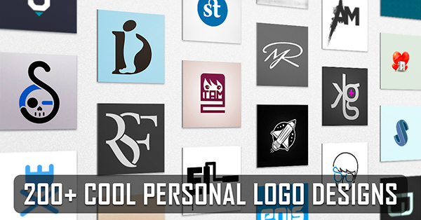 200+ Best Personal Logo Design Examples for Inspiration