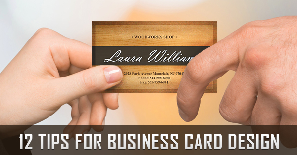 12 tips to design the perfect business card - Business Card Design Ideas