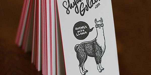 Tarjetas con ilustraciones