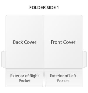 Presentation folder side 1
