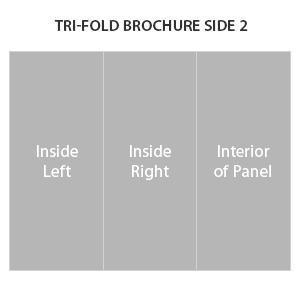Trifold brochure side 2