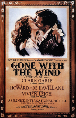 Gone With The Wind Old Poster