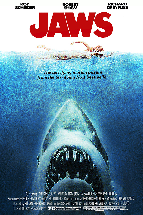 24 All Time Best Movie Posters with Great Designs : jaws from www.companyfolders.com size 600 x 900 jpeg 737kB