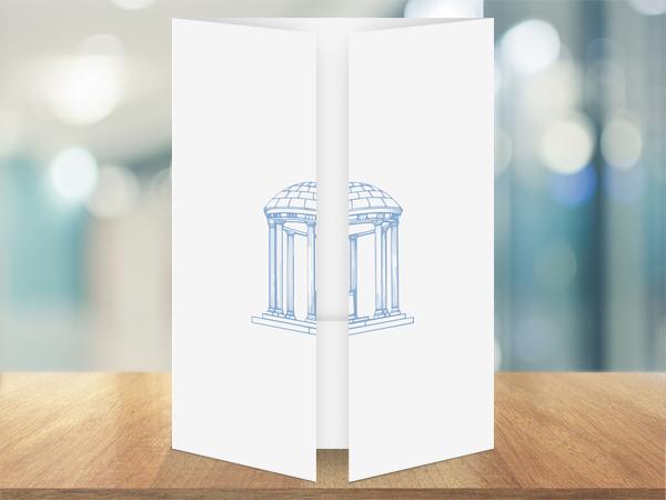 UNC Kenan-Flagler Business School Folder Design