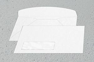 #10 Digitally Printed Windowed Business Envelope
