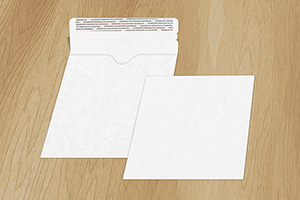 Adhesive Strip Single CD/DVD Mailer Envelope