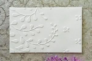 Embossed Envelopes (Lavender)