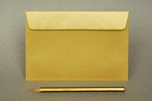 4x6 Metallic Gold A6 Envelopes