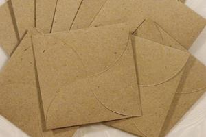 Kraft Petal Mini-Envelopes
