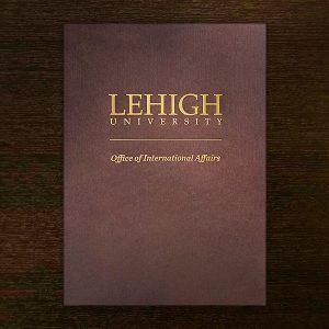 Lehigh University Folder