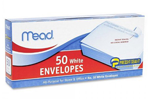 Mead #10 White Envelopes